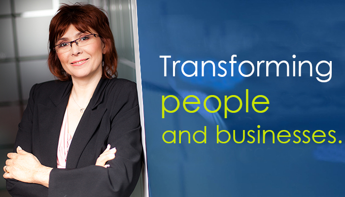 Adriana radu Transforming People and Businesses