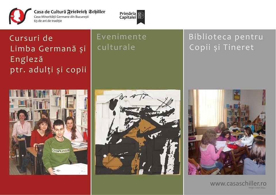 """Calendarul cultural online al Casei de Cultură """"Friedrich Schiller"""""""