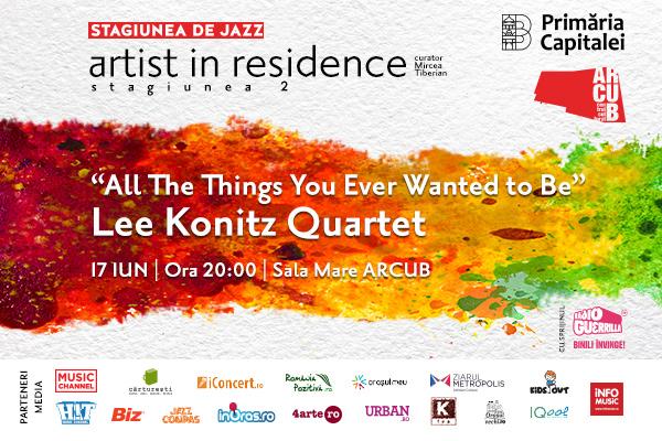 Artist in Residence la Arcub pentru ca… unora le place jazzul