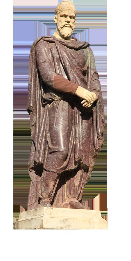Statuie nobil dac Florenta- proiect AICC Florin Pîrlea