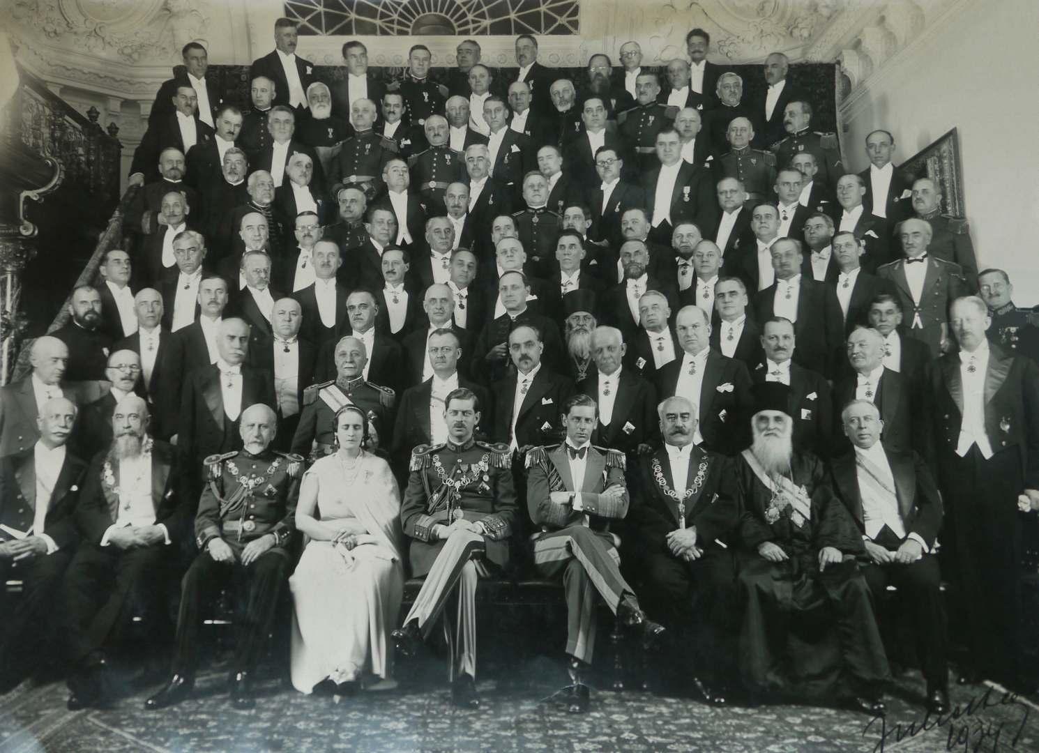 Eroii Marii Uniri- foto de grup AICC