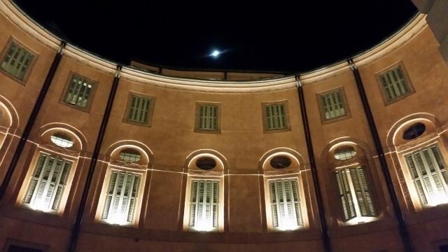 Ferrara -undeva in spatele Teatro Communale
