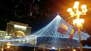 Piata si cladirea Operei (Victoriei) Timisoara