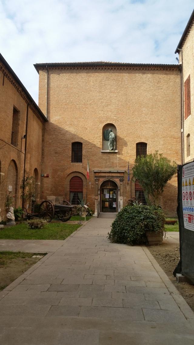 Ferrara Pallazo- muzeu acum