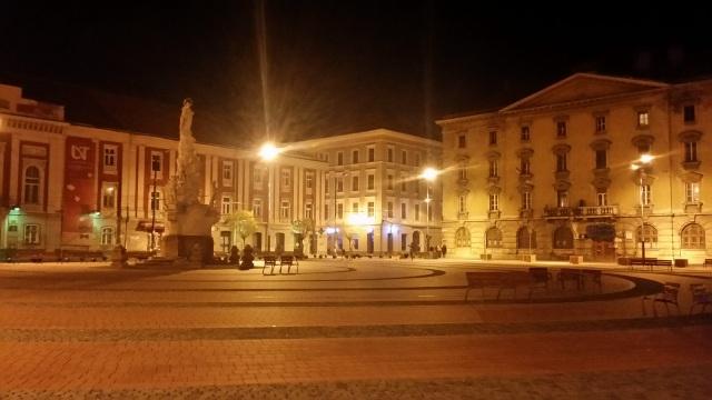 Piata Libertatii Timisoara - noaptea