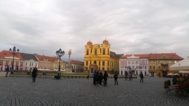 Piața Unirii Timisoara