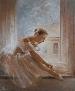Vali Irina Ciobanu - tablou o noua zi- balerina