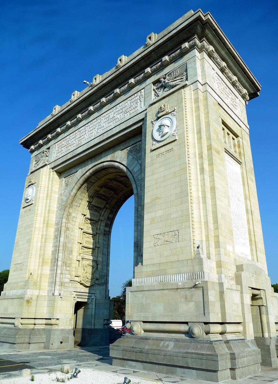 Arcul de Trimf din Bucuresti – o istorie in sine