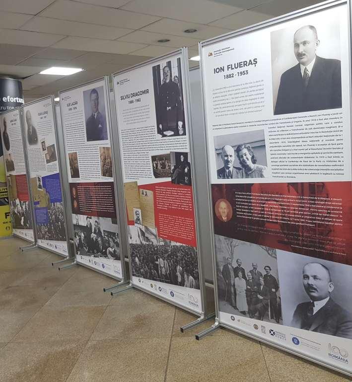 centenar romania - martirii marii uniri - pasaj universitate