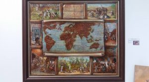 Istoria cafelei - Vali Irina Ciobanu pictura pe piele