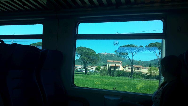 trenul personal roma pisa