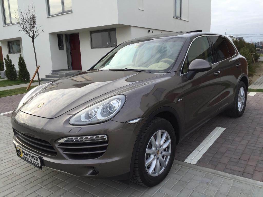 Inchirieri auto Porsche - Partner Rent a car