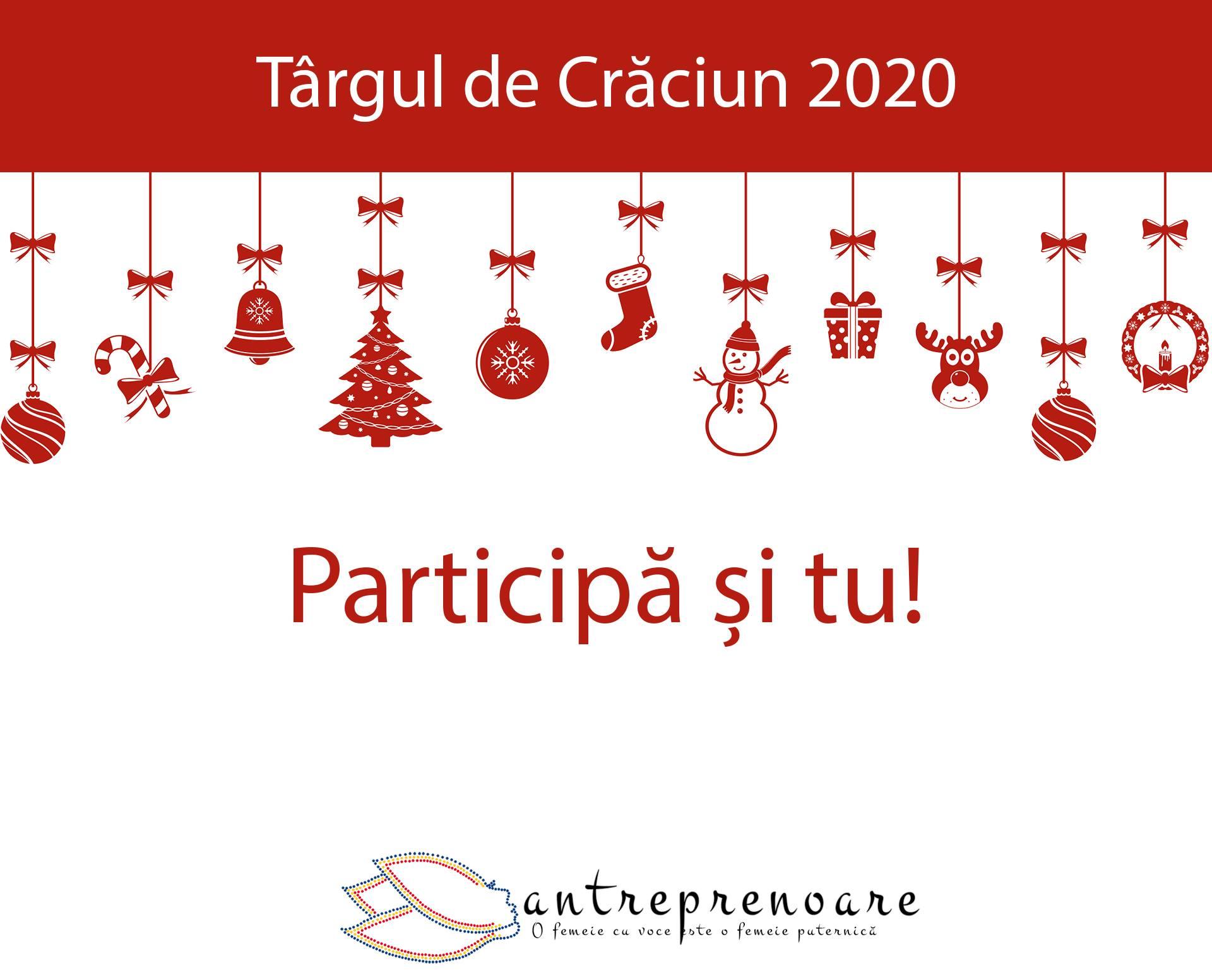 Targul de Crăciun al antreprenoarelor se ține online
