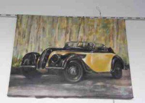Vali Irina Ciobanu - pictura masina